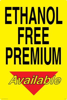 CAS16-35 Aluminium Sign - Ethanol...