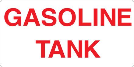 CAS16-39 Aluminium Sign - Gasoline Tank