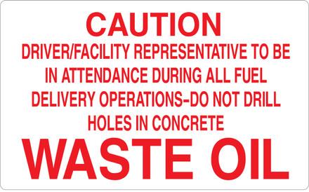 CAS16-40 Aluminium Sign - Caution...