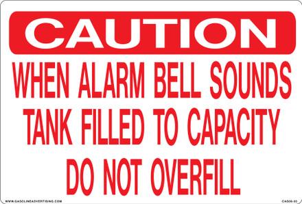 CAS09-03 Aluminium Sign - Caution...
