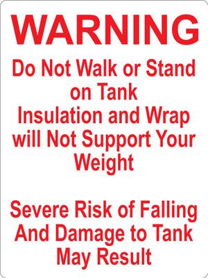 CAS10-40 Aluminium Sign - Warning...