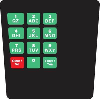 GA-ENE1701GTMR1 Keypad Overlay
