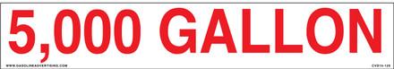 CVD15-312 - 5000 GALLON