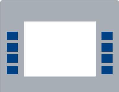 GA-EU01003GWAVE Monochrome Soft Key Overlay