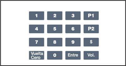 GA-EU03001G008 Keypad Overlays
