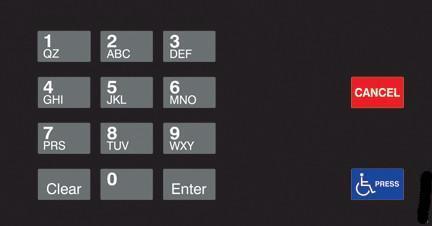 GA-EU03004G001A Keypad Overlays