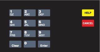GA-EU03004G001H Keypad Overlays