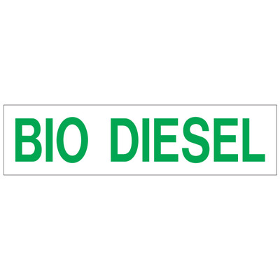 D-361 Pump Ad. Panel Decal - BIO DIESEL