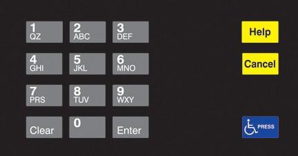 GA-EU03004G004 Keypad Overlays