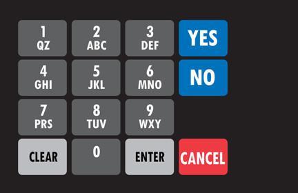 GA-887862-005 Ovation Keypad Overlay