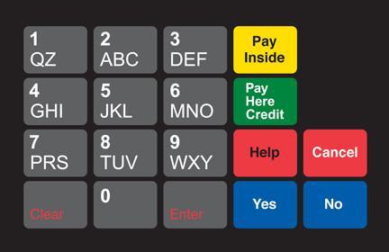GA-887862-00B Ovation Keypad Overlay