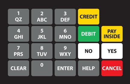 GA-887862-036N Ovation Keypad Overlay