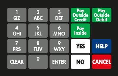 GA-887862-070 Ovation Keypad Overlay