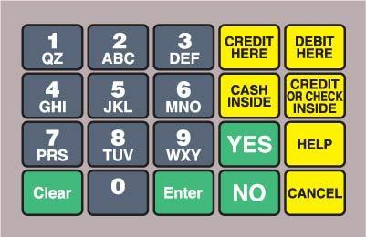 GA-887862-086E Ovation Keypad Overlay