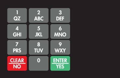 GA-887862-0M1 Ovation Keypad Overlay