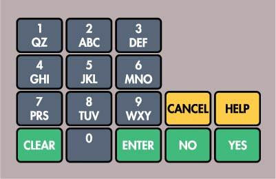 GA-887862-BP2Ovation Keypad Overlay