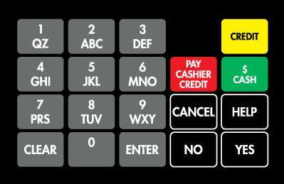 GA-887862-END Ovation Keypad Overlay