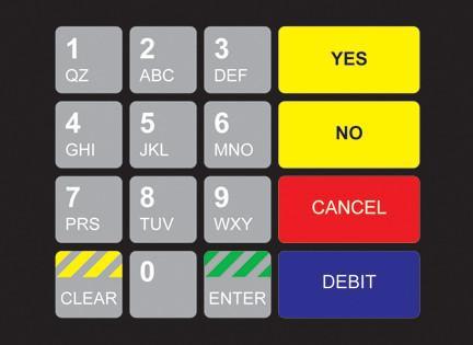GA-887862-ESE Ovation Keypad Overlay