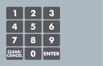 GA-887862-GG0 Ovation Keypad Overlay