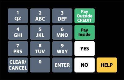 GA-887862-WPN Ovation Keypad Overlay