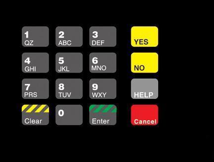 GA-T18724-03 Keypad Overlay