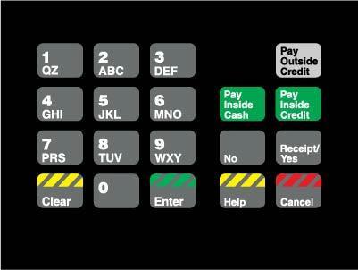 GA-T18724-04 Keypad Overlay