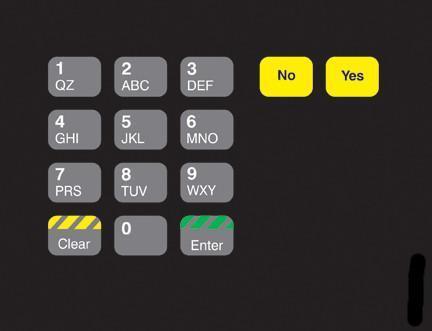 GA-T18724-0G Keypad Overlay