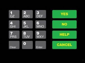 GA-T18724-10 Keypad Overlay