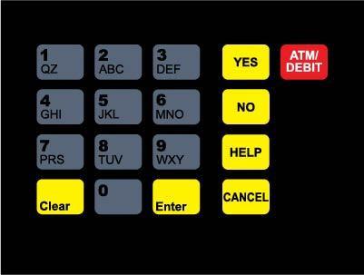 GA-T18724-1010 Keypad Overlay