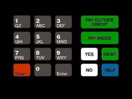 GA-T18724-1035 Keypad Overlay