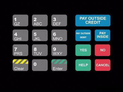 GA-T18724-1046 Keypad Overlay