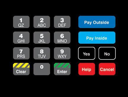 GA-T18724-1047 Keypad Overlay