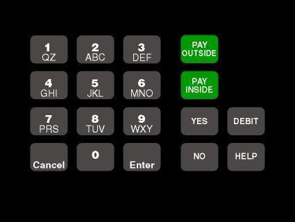 GA-T18724-1048 Keypad Overlay