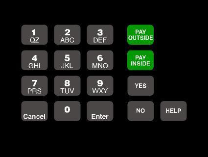 GA-T18724-1049 Keypad Overlay