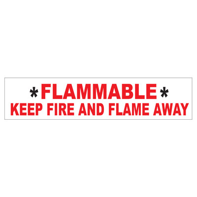 D-43 AST & Bulk Fuel Plant Decal - FLAMMABLE...