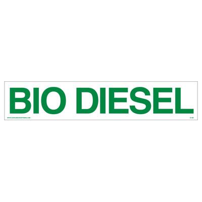 D-461 Bio Diesel Decal - BIO DIESEL