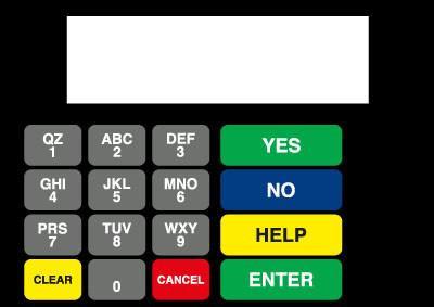 GA-886542-009 Vista Keypad Overlay