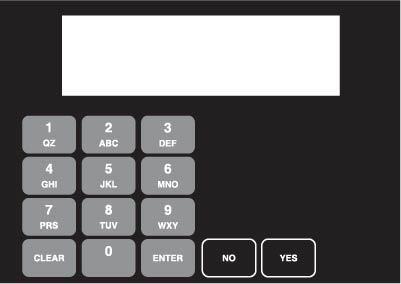 GA-886542-025WB Vista Keypad Overlay