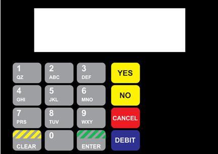 GA-886542-062 Vista Keypad Overlay