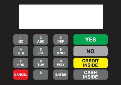 GA-886542-0AL Vista Keypad Overlay