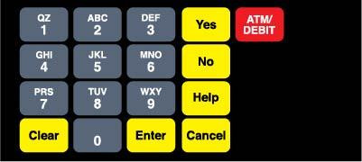 GA-886542-JAP Vista Keypad Overlay