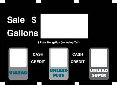 GA-888226-003-VAL1 Vista 390/590U Dialface Decal 3 Produts Single Price Generic/Custom
