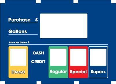 GA-888226-007-MOB Vista 390/590U Dialface Decal 3 Produts Single Price Generic/Custom