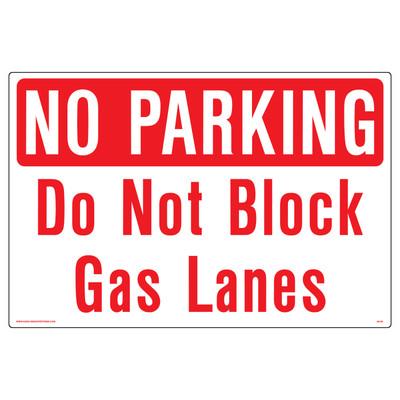 AS-06 Aluminum Sign - No Parking..