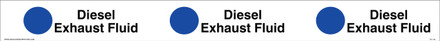 "TC-134 ""Diesel Exhaust Fluid"" API Plastic Tank Collar"