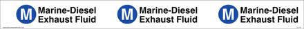 "TC-135 ""Marine-Diesel Exhaust Fluid"" API Plastic Tank Collar"