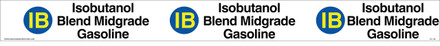 "TC-128 ""Isobutanol Blend Midgrade Gasoline"" Tank Collar"