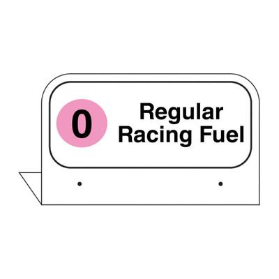 "FPI-129 Fill Pipe ID Tag ""Regular Racing Fuel"""