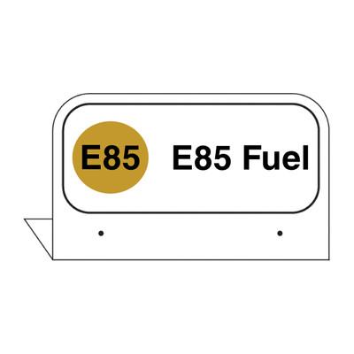 """FPI-40 Fill Pipe ID Tag """"E85 Fuel"""""""