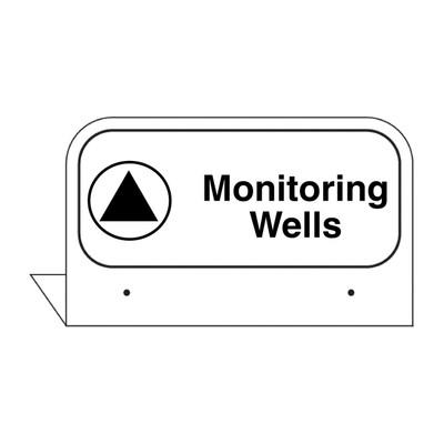"FPI-10 Fill Pipe ID Tag ""Monitoring Wells"""